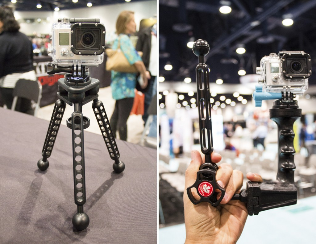 Aquatica's new GoPro mount options