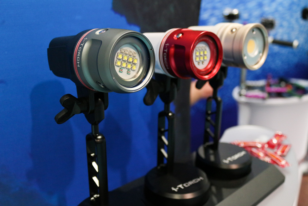 "The ""Venom"" lineup by I-Torch. High end video lights."