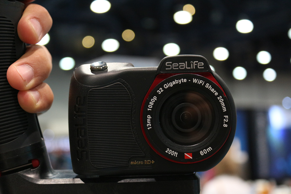 The Micro HD! Sealife's new Permanently Sealed action cam!