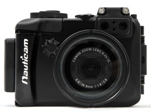 Nauticam NA-G7X Housing for Canon G7X Front