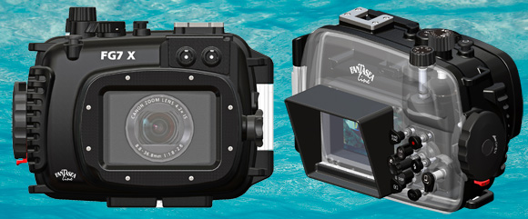 The Fantasea FG7X Housing for Canon G7X Underwater