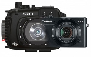 Fantasea FG7X II Underwater Housing AND Canon G7X II Camera