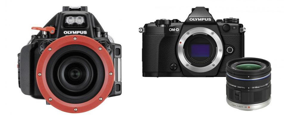 Olympus E-M5 Mark II Underwater Bundle