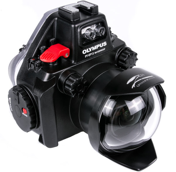 Zen Dome for Olympus PRO Lens on Olympus Housing