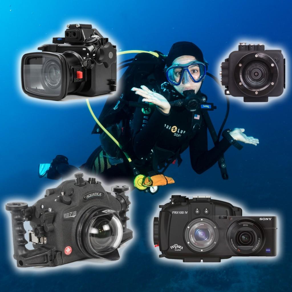 First Underwater Camera
