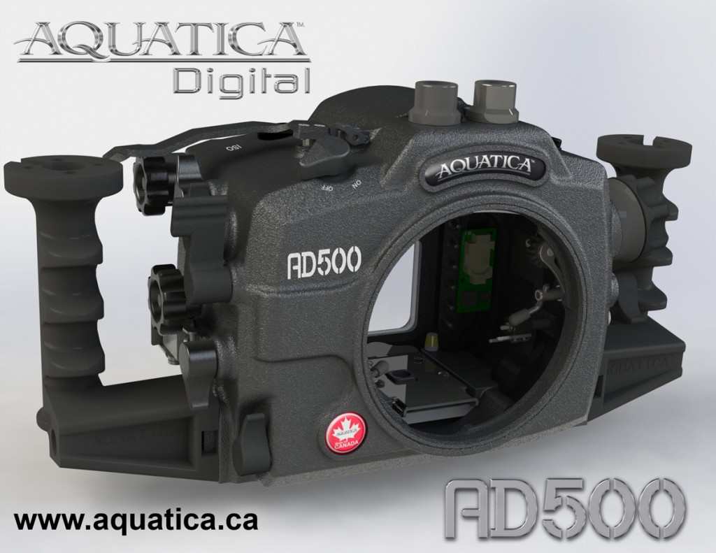 Aquatica AD500 Housing for Nikon D500
