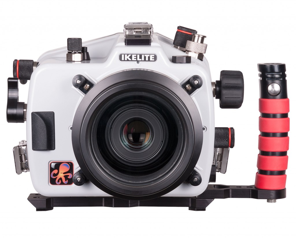 Ikelite Underwater Housing for Canon 80D Front View