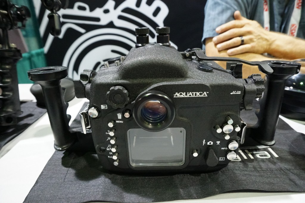 aquatica D500 Underwater Housing back