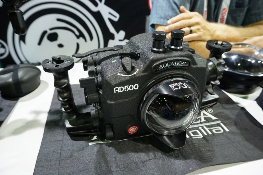 aquatica D500 Underwater Housing Front