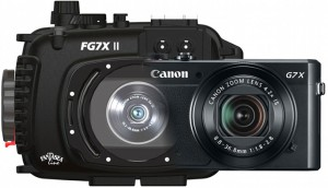 Fantasea underwater housing for Canon G7X Mark II