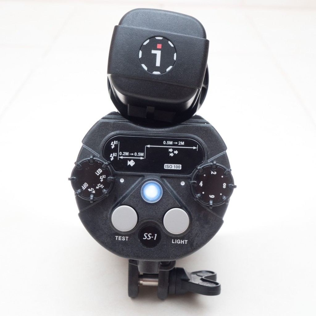 I-Torch Symbiosis back and controls