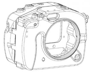 Aquatica A6300 housing sketch