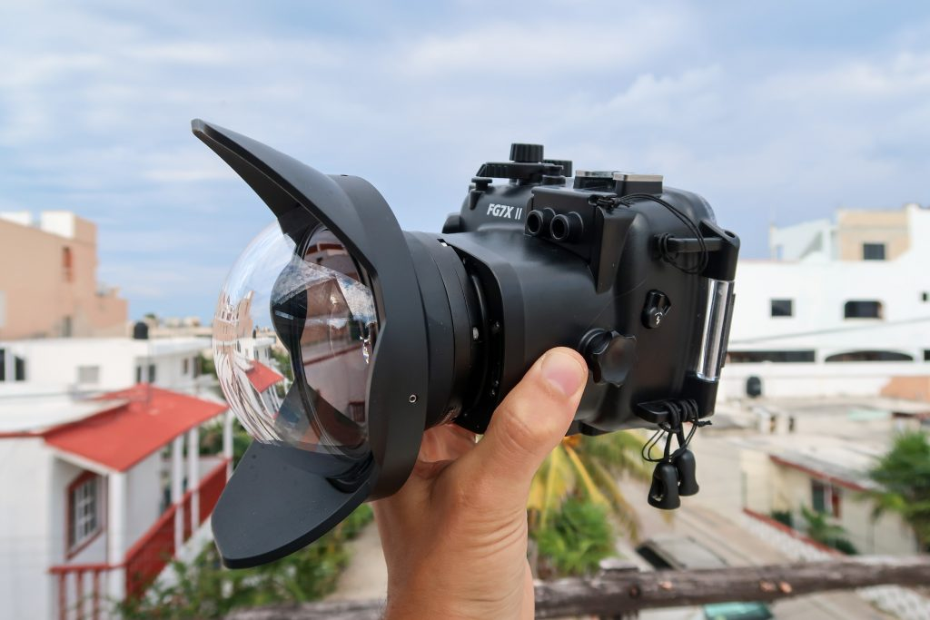 Fantasea FG7XII Housing with UWL-09 Lens