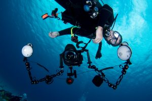 Recommended Settings for compact camera underwater