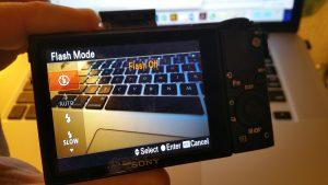 Sony RX100 IV Flash Off