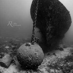 Wreck taken with the Sony A6500 + 16mm lens + Fisheye converter in the Fantasea FA6500 + Dome