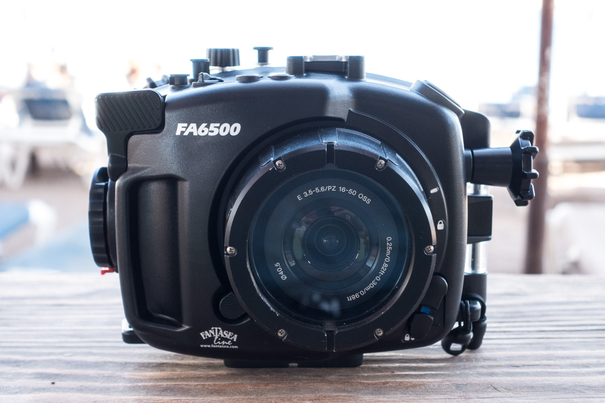 Fantasea FA6500 underwater housing for Sony A6500 Mirrorless