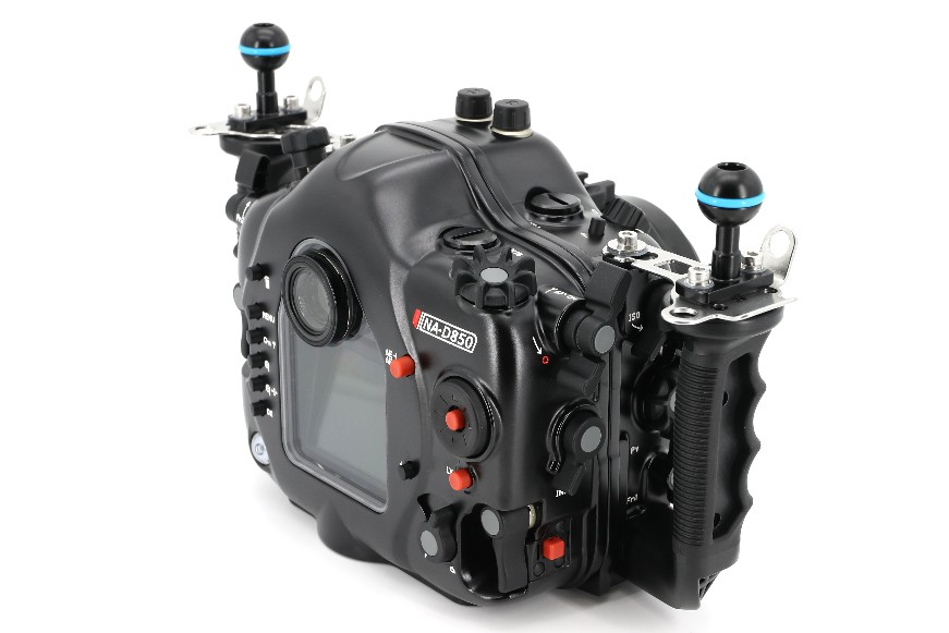 Nauticam NA-D850 Underwater Housing for Nikon D850 Back 1