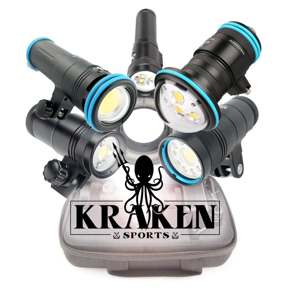 Kraken Underwater Video Lights