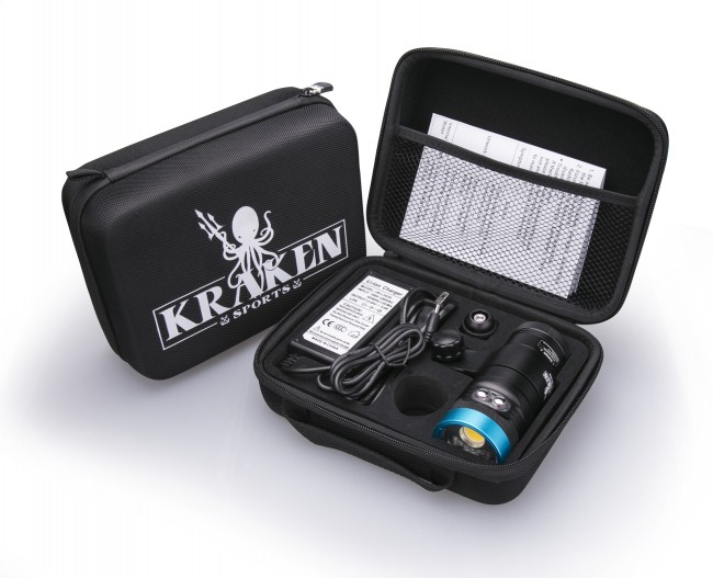 Kraken Hydra 3500 WSRU Video Light