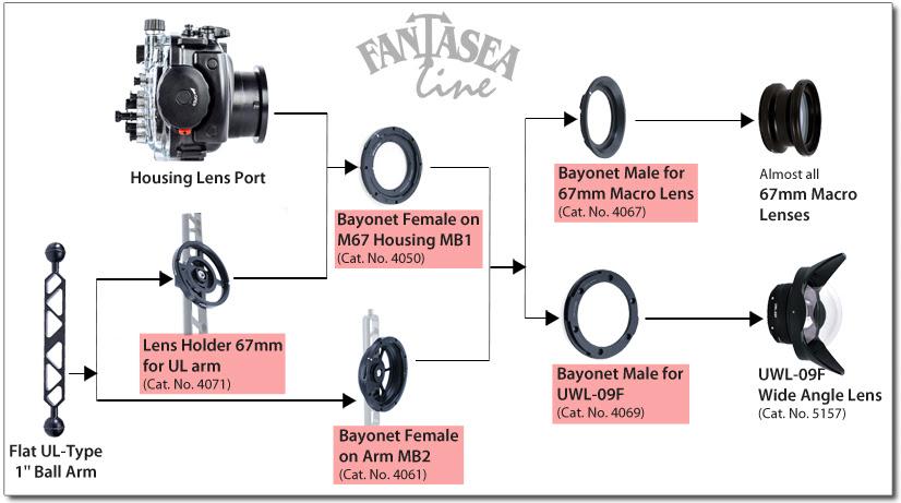 Fantasea bayonet system