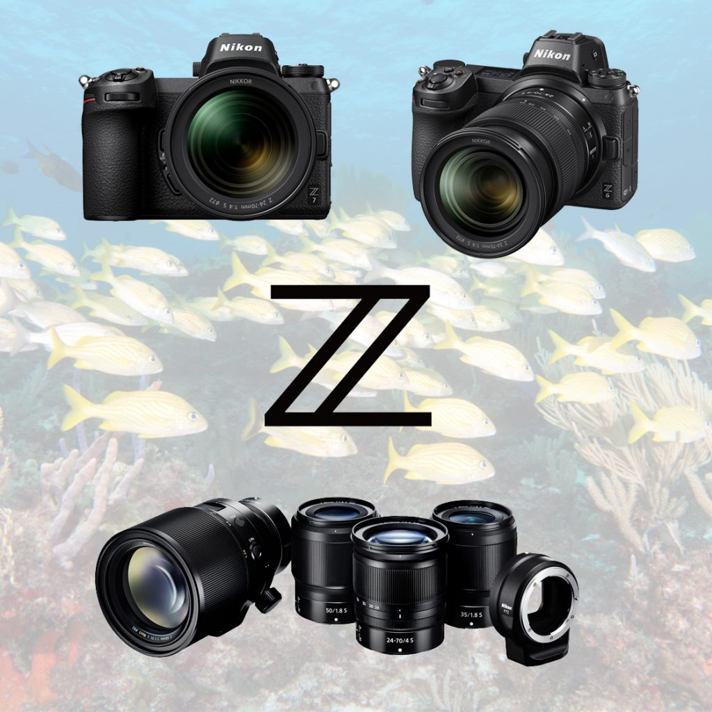 nikon z underwater housings