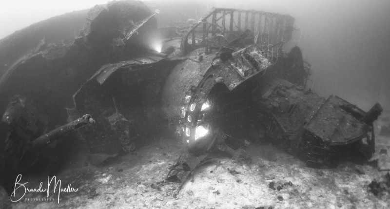USS Anderson destroyer wreck