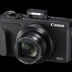 Canon G5X Mark II Flash up