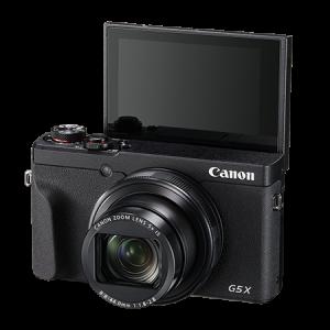 Canon G5X Mark II screen