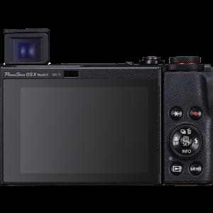 Canon G5X Mark II Back