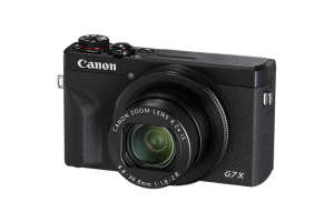 Canon G7X III Black Front