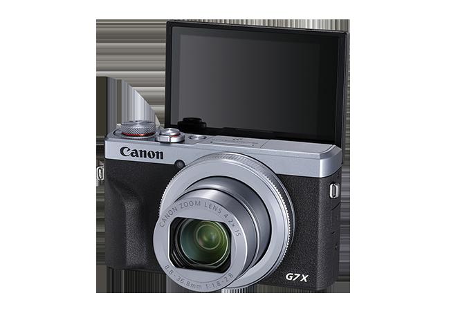 Canon G7X III Silver Screen