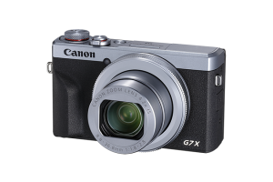Canon G7X III Silver Front