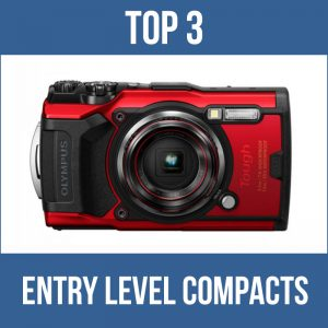 Top 3 entry level compacts for underwater photography