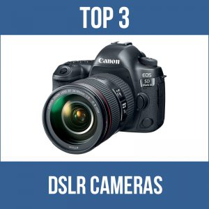Top 3 dslr cameras for underwater photography