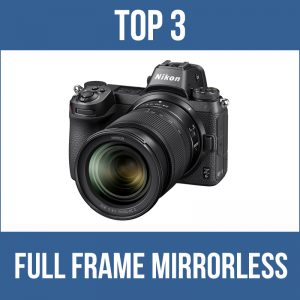Top 3 full frame mirrorless cameras for underwater photography