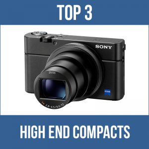 Top 3 high end compacts for underwater photography