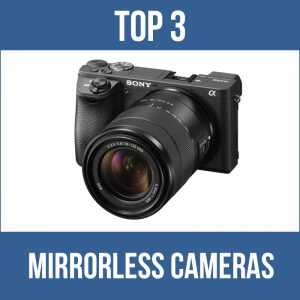 Top 3 mirrorless cameras for underwater photography