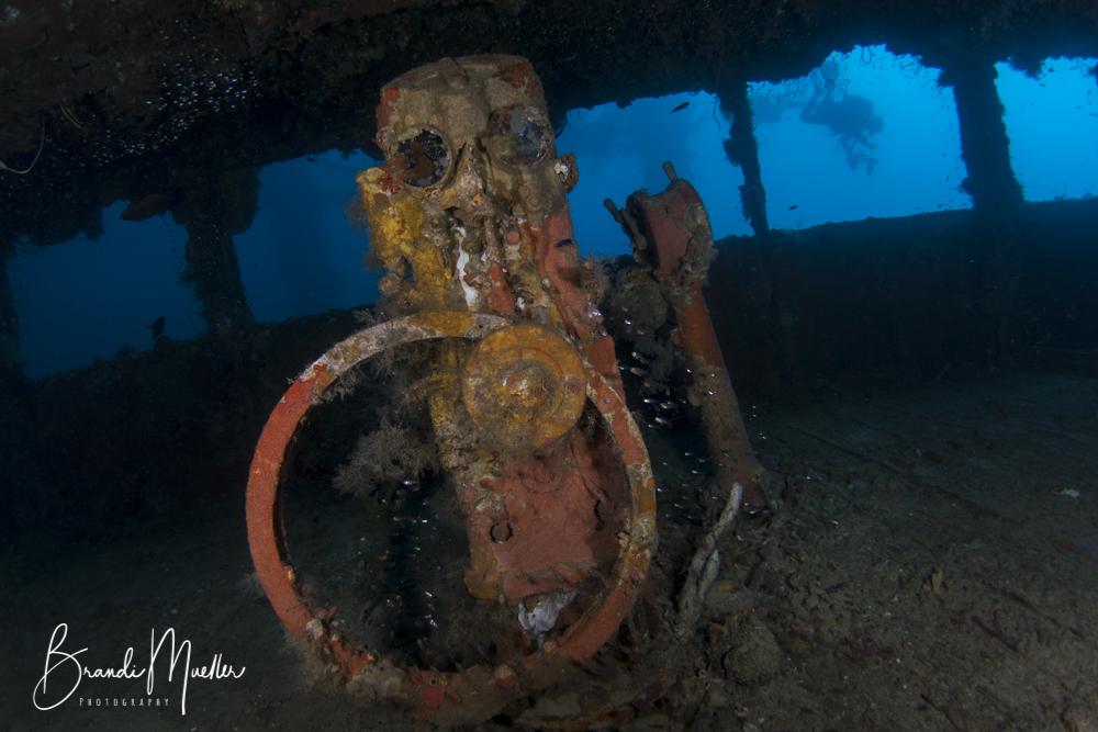 Wheelhouse of the Nippo Maru