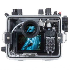 Ikelite E-M5 III Underwater Housing back