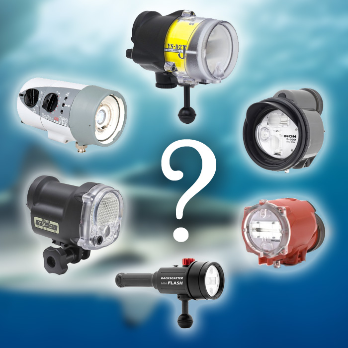 Best Underwater Strobes / Flashes 2020