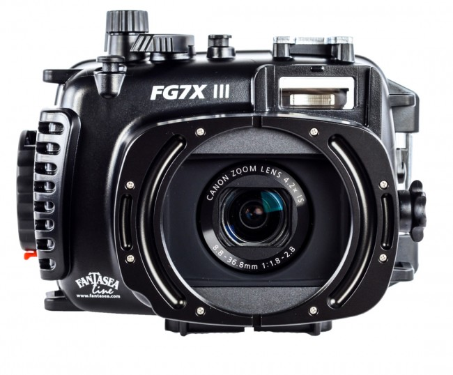 Fantasea underwater housing for Canon G7X Mark III