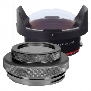 Flat Port and Dome Port for Underwater Photography