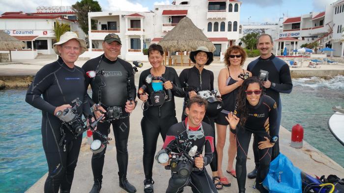 Group shot Cozumel