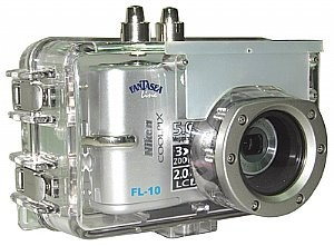 Fantasea FL-10 FL10 Camera Housing NIKON COOLPIX L10