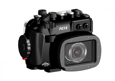 Fantasea FG15 Underwater Housing for Canon G15