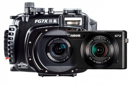 Fantasea FG7X II A Underwater Housing AND Canon G7X II Camera