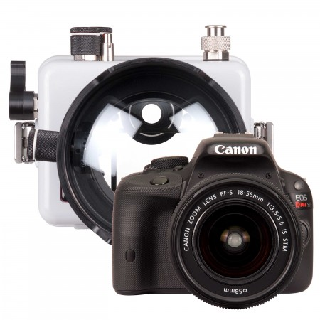 Ikelite DSLR Underwater Housing AND Canon EOS 100D / SL1 Camera