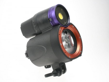 I-torch Symbiosis SS-2 Pro Video Light and Underwater Strobe Flash