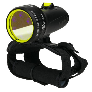 Light and Motion SOLA Nightsea Black- 850-0213-B (3000mW Lumens) Underwater Dive Light